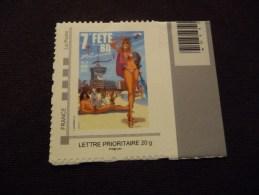 "TIMBRE  AUTOADHESIF  LETTRE  PRIORITAIRE "" FETE  DE  LA  BD  "" NEUF  LUXE** - France"