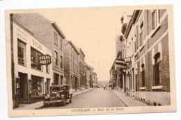 29669  -  Auvelais Rue De La Gare -  Ancienne  Voiture Chevrolet  Six - Sambreville