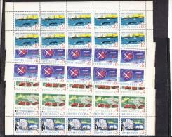 Rusia Nº 2712 Al 2715 - 10 Series En Bloque - Unused Stamps