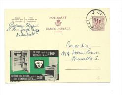 Publibel Obl. N° 2077 ( Frigos  ACEC, Cuisinières électriques)  Obl: Dilbeek 1967 - Publibels