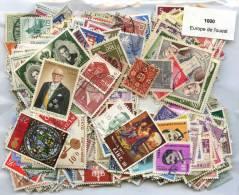 1000 Timbres Thème Europe Ouest - Briefmarken