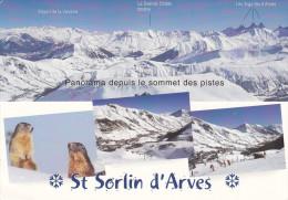 Ph-CPM Saint Sorlin D'Arves (Savoie) Multivues - France
