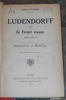 Ludendorff Sur Le Front Russe 1914-1915 - Manoeuvres Et Batailles - War 1914-18