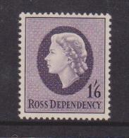 Ross Dependency 1957 1 Shilling & 6d QEII  Pre Decimal Definitive MNH - Ross Dependency (New Zealand)