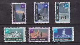 Ross Dependency 1996 Antarctic Landscapes Set 6 MNH - Ross Dependency (New Zealand)