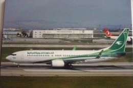IRAQI AIRWAYS  B 737 800  YI ASE    ISTANBUL   AIRPORT - 1946-....: Moderne