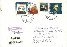 Lituania / Registered Letter - Lithuania