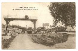 CORGOLOIN - Le Chantier De La Gare Et La Scierie - France