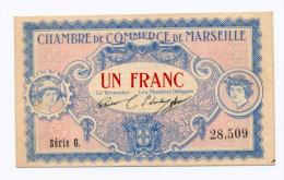 1914-1918 // C.D.C.//  Marseille  // 1 Franc - Cámara De Comercio