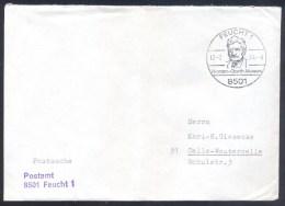 Germany Deutschland 1974 Cover; Astronomy, Raumfahrt; Space Flights; Herman Oberth Museum Feucht; Postsache Folded - FDC & Gedenkmarken