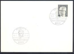Germany Deutschland 1973 Card; Astronomy, Raumfahrt; Space Flights; Herman Oberth Museum Feucht; - FDC & Gedenkmarken