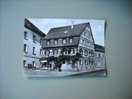 ALLEMAGNE BADE WURTEMBERG EPPINGEN A. MARKTPLATZ CAFE-SCHÄFER WEINSTUBE - Eppingen