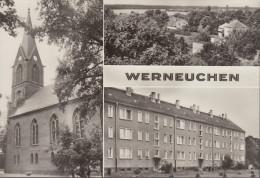 D-16356 Werneuchen - Mehrbildkarte - Kirche - Church - Werneuchen