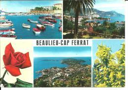 42498   Beaulieu Sur Mer  Cap Ferrat  Multi Vue - Beaulieu-sur-Mer