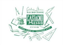 CUNEO CARTOLERIA E LIBRERIA CASTAGNO ALESSIO C.SO NIZZA 38 CARTA ASSORBENTE - Buvards, Protège-cahiers Illustrés