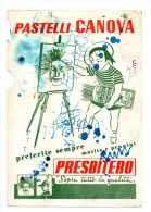 CARTA ASSORBENTE PRESBITERO PASTELLI CANOVA - Buvards, Protège-cahiers Illustrés