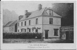 ST GERMAIN EN LAYE : La Grille Royale - Belle CPA - St. Germain En Laye