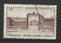 """FR YT 939 """" Grille Château De Versailles """" 1952 Oblitéré - Usati"""