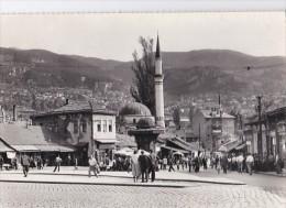 Carte 1955 SARAJEVO / BASCARSIJA - Yugoslavia