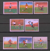 Equatorial Guinea 1978 Football - Soccer ARGENTINA IMPERFORATE MNH (T1106) - World Cup