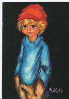 Carte Signée Nathalie : Le Caid - Kindertekeningen