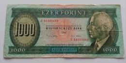 UNGHERIA 1000 FORINT 1993 - Hongarije