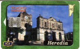 @+ TC du Costa Rica : Eglise HEREDIA - 400 000ex - 05/01