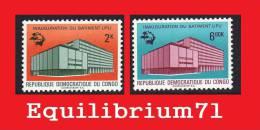 720/721** - Inauguration Du Nouveau Bâtiment De L´U.P.U à Berne - CONGO - Mint/hinged