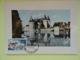 CARTE MAXIMUM CARD CHATEAU DE SULLY SUR LOIRE  FRANCE - Cartoline Maximum