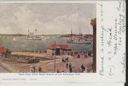 NSW101/ Farm Cove, Naval Station 1905, Posted At Katoomba To Spain - Australie