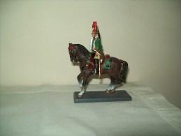 Soldatino Di  Piombo (De Agostini) Guardia Imperiale Napoleonica Dragone A Cavallo - Figurines