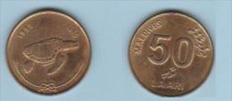 MALDIVES   //  50 LAARI  1995   //     //  SUP - Maldives