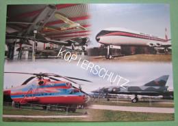 Foto Postkarte Ansichtskarte Flugzeuge - 1946-....: Moderne