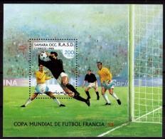 SAHARA  BF   * *  Cup 1998  Football  Soccer Fussball - Coupe Du Monde