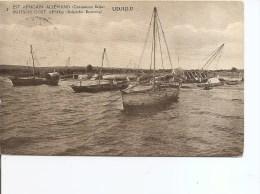 Ruanda -Urundi - Bateaux De UDJIDJI ( EP De 1919 à Voir) - Ruanda-Urundi