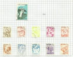Vietnam N°551, 553 à 567 - Vietnam