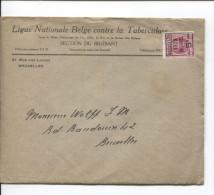 TP 273 Préo S/L.de La Ligue Nationalz Belge Contre Tuberculose BXL 1929 V.E/V PR1527 - Covers & Documents