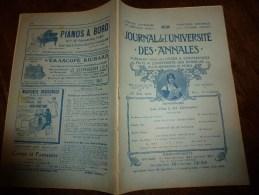 1909 JDUDA :Napoléon;La Ferme Des Quatre Bras;RUSSIE (Le Wagon-église; Port-Arthur);Wagner;La Chapelle De Saint-Mesmin - Kranten