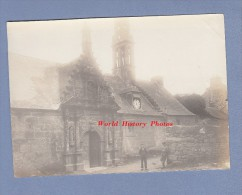 Photo Ancienne - DAOULAS - Chapelle Sainte Anne - Horloge - Bretagne - Plougastel - Lieux