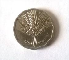 URUGUAY - 2 Nouveaux Pesos 1981 - - Uruguay