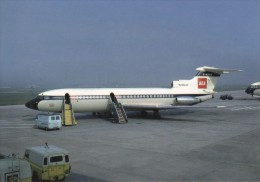 BEA Trident G-ARPN, At Glasgow Airport In 1967, Modern Unused Postcard [14852] - 1946-....: Moderne