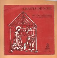 """45 T ERATO: 5 Titres Chants De Noël Par """" Les Petits Chanteurs De La Renaissance """", - Weihnachtslieder"""