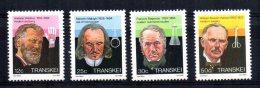 Transkei - 1985 - Celebrities Of Medicine (4th Series) - MNH - Transkei