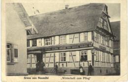 GRUSS AUS NEUMUHL .... WIRTSCHAFT ZUM PFLUG - Allemagne