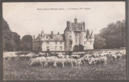 27----PONT SAINT PIERRE---Le Chateau ( XV° Siècle) - Francia