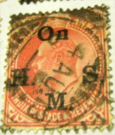 India 1906 King Edward VII Service 1a - Used - India (...-1947)