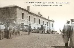 Le Mont Ventoux - Courses D'automobiles - Cartoline