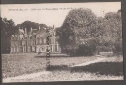 27----ECOUIS--Chateau De Mussegros Vue De Coté - Francia