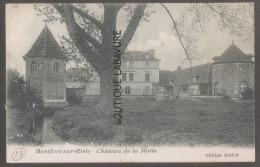 27----MONTFORT SUR RISLE---Chateau De La Motte - Francia