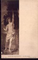 CPA Carte Postale Ancienne Somme Amiens Musée Puvis De Chavannes Moissonneur - Amiens